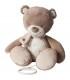 عروسک موزیکال خرس قهوه ای ناتو Nattou Musical Tom the bear