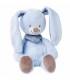 عروسک خرگوش آبی ناتو Nattou Cuddly Bibou the rabbit