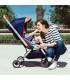 کالسکه مدل زیگی میما رنگ سرمه ای Mima zigi Stroller Midnight Blue