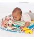 تشک بازي طرح شیر و میمون اینفانتینو Infantino Tummy Time Play Mat