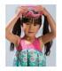 مایو دخترانه با جلیقه شنا طرح قلب(2 سال) Archimede Neon Buoyancy