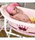وان صورتی طرح پرنسس Rotho Bath Tub Little Princess