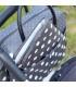 کیف لوازم کودک Bebejou Diaper Bag Grey Dots
