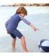 سرهمی شنا پسرانه ضد UV طرح ملوانی (3 تا 6 ماه) Archimede Marin Boy UV Combi