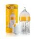ست شیشه شیر طلقی 240 میل به همراه گرم کننده برند Yoomi