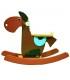 راکر چوبی طرح اسب Toynwood Rocker