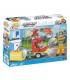 اسباب بازی ساختنی مدل زندگی شهری- کامیون تصفیه فاضلاب Cobi Action Town Septic Truck