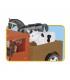 اسباب بازی ساختنی مدل زندگی شهری- مزرعه Cobi Action Town Ranch
