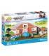اسباب بازی ساختنی مدل زندگی شهری- مزرعه روستا Cobi Action Town Countryside Farm