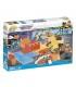 اسباب بازی ساختنی مدل زندگی شهری- زمین اسکیت باحال Cobi Action Town Mega Funny Skatepark