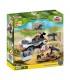 اسباب بازی ساختنی مدل ارتش کوچک- پیاده نظام Cobi Small Army Mobile Infantry Post