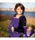 آغوشی کودک داینامیک پارچه نخي رنگ ارغوانی Minimonkey Dynamic Cotton Baby Carrier