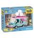 اسباب بازی ساختنی مدل پنگوئن ها- ماشین بستنی فروشی Cobi Penguins IceCream Truck