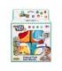 اسباب بازی مکعب 4 عددی وین فان Winfun Animal Pals Soft Blocks