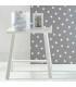 سبد وسایل بهداشتي نوزاد لوما سفید طرحدار Luma Nursery Basket