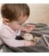 مچ بند چسبی جغجغه ای بیبی فن طرح خرس BabyFehn Wrist Rattle Bear