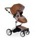 ست کالسکه میما مدل زاری رنگ شتری با کیف لوازم و کاورگرمکن پا Mima Xari Stroller Camel