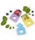 دندانگیر یخی کیدزمی رنگ سبز Kidsme Icy Teether Lime