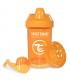 لیوان آبمیوه خوری 300 میل تویست شیک Twistshake Crawler Cup 300ml Orange