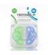 پستانک دو عددی 0 تا 6 ماه تویست شیک Twistshake 2x Mini Pacifier 0-6 Months Blue Green