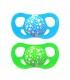پستانک دو عددی 6 ماه به بالا تویست شیک Twistshake 2x Pacifier 6+ Months Blue Green