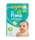 پوشک نوزاد سایز 3 پمپرز پریما ترک (62 عدد) Pampers Prima