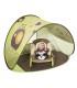 چادر بازی کف دارضدآفتاب سبز و قھوه اي طرحدارBabymoov