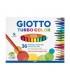 ماژیک 36 رنگ جیوتو مدل Giotto Turbo Colour