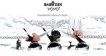 ویدیو کالسکه یویو پلاس بیبی زن Babyzen Yoyo